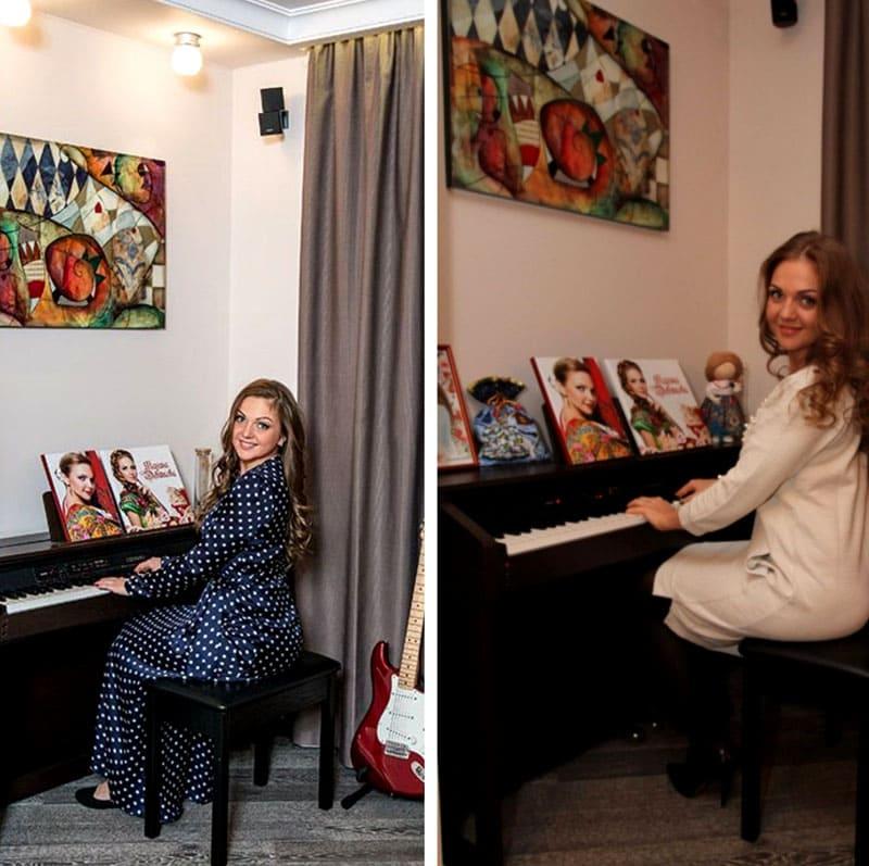 ФОТО: fashion-int.ru В гостиной созданы все условия для репетиций