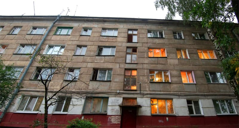 В этом доме расположены только коммунальные квартиры