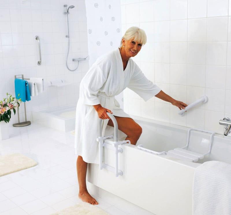 Поручни для инвалидов в ванную и туалет: выбор
