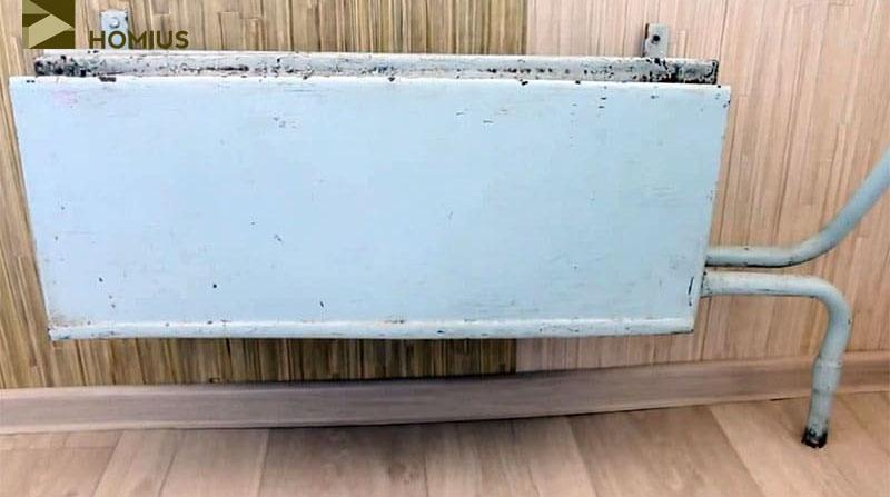 Реставрация старого радиатора отопления