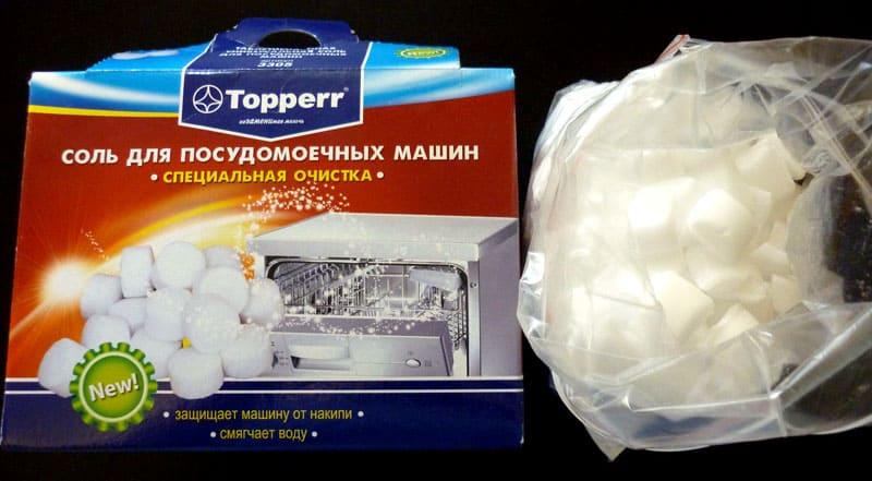 ФОТО: static.onlinetrade.ru Topper – таблетированная соль против накипи