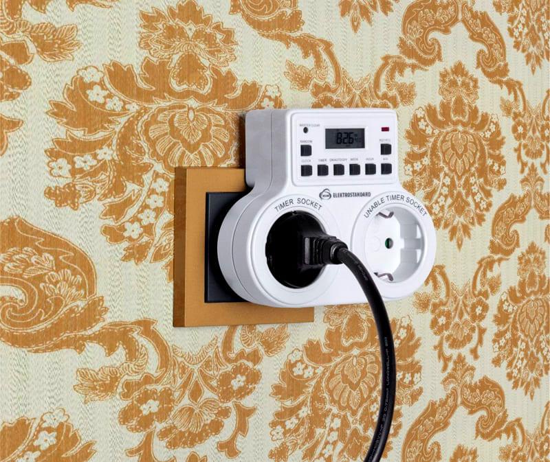 Таймер включения и выключения электроприборов