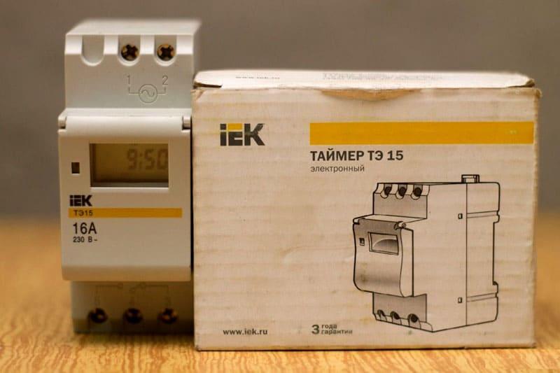 ФОТО: eelp.ru Модель ТЭ-15 – одна из популярных среди вариантов для монтажа на дин-рейку