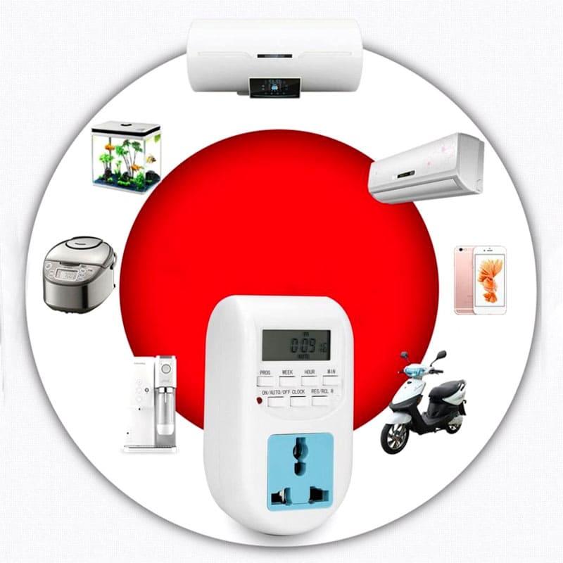 ФОТО: image.dhgate.com Установка таймера – это способ экономии потребления электричества для любого прибора