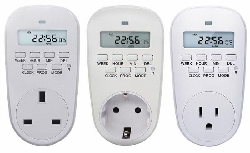ФОТО: www.fiyatgrafik.com Электрические розетки имеют примерно одинаковый набор кнопок, что упрощает их настройку