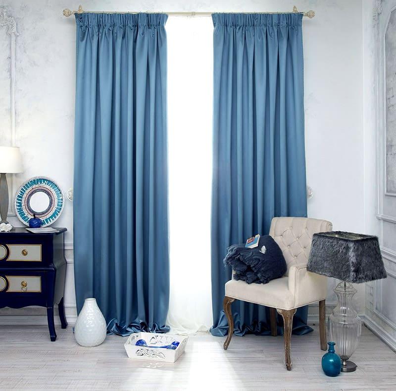 Такие шторы очень изысканны