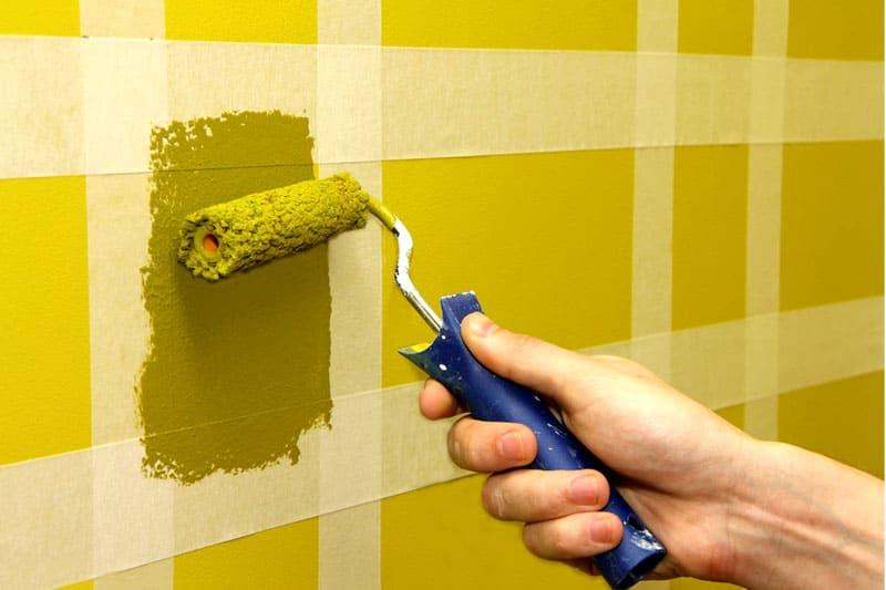 Идея для декорирования стены в детской