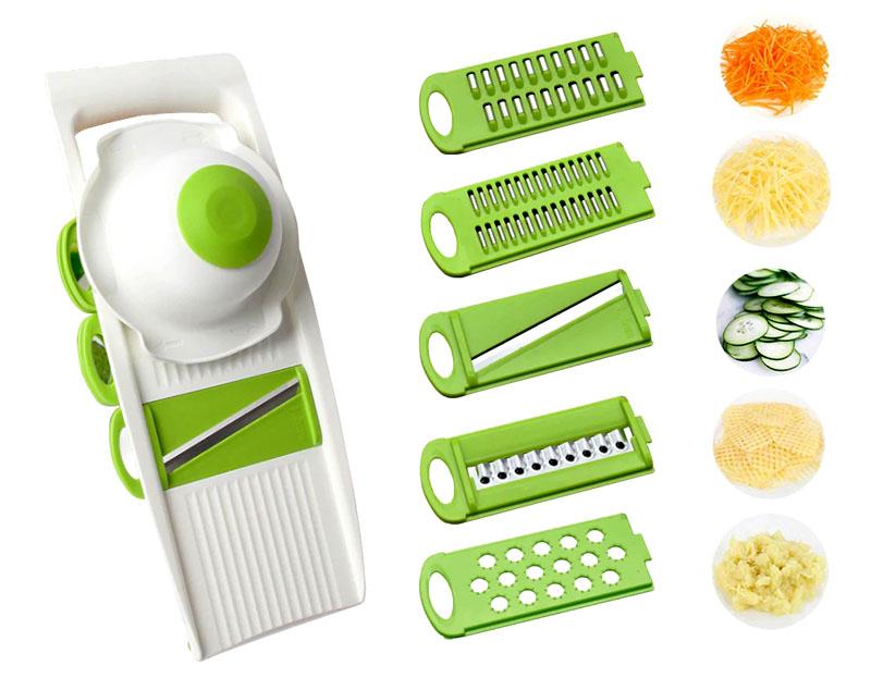 Компактный, многофункциональный станок для нарезки овощей для соления и заморозки сэкономит массу времени нервов и сил