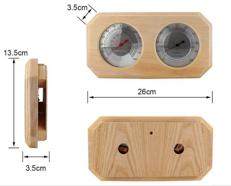 Измеритель влажности и температуры 2 в 1