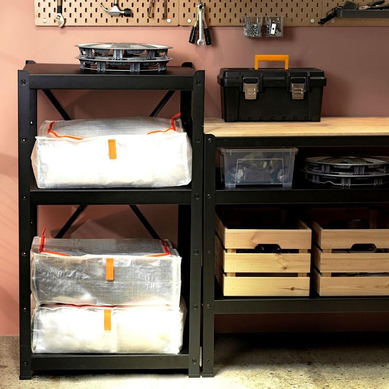 Сумка для хранения может использоваться даже на даче или в гараже