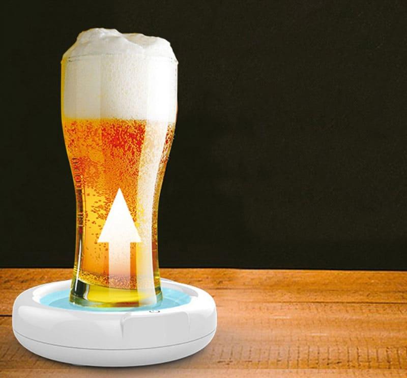 И ваше постоявшее пиво снова с пеной
