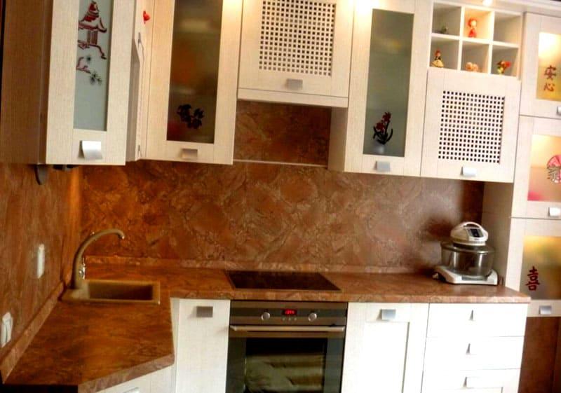 Стеновые панели ПВХ: монтаж в кухне