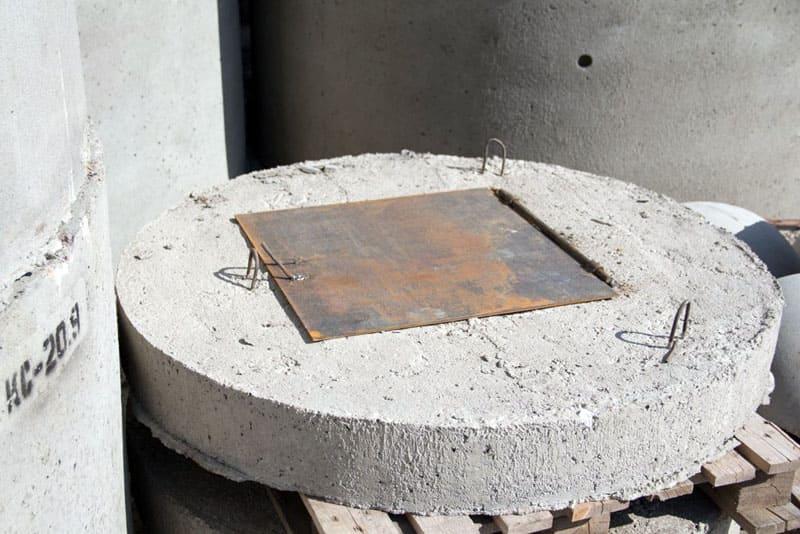 Оптимальная толщина бетонной крышки 8-12 см