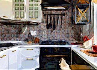 Кухня 6 м²: фото до и после