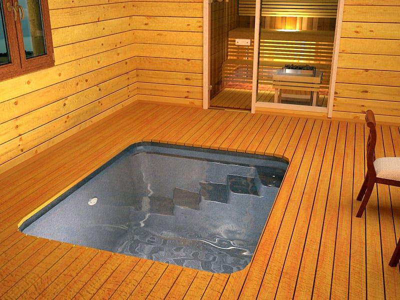 Когда здоровье в ваших руках: купель для бани на зависть соседям