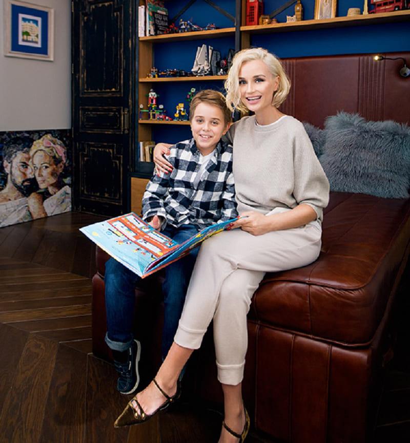 Комната старшего сына Полины Гагариной