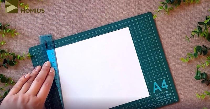 Высота моей буквы будет 17 см, а ширина 20. Вы можете выбрать любые пропорции и, конечно, любую букву
