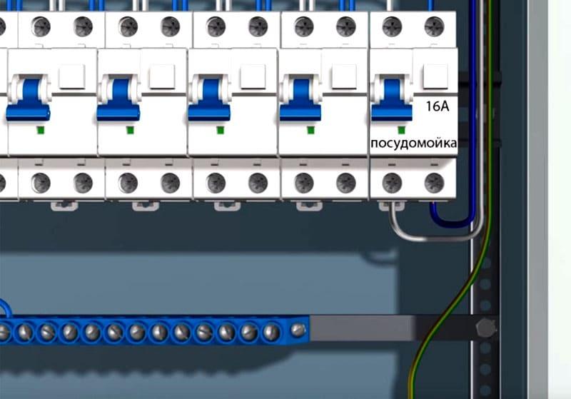 Подключать ПММ через обычный модульный автомат опасно