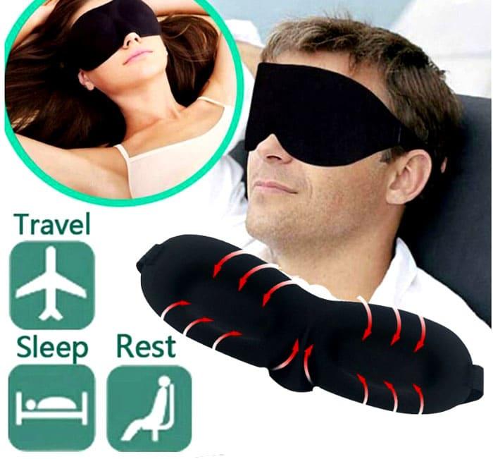 Комфортный сон в этой маске вам обеспечен