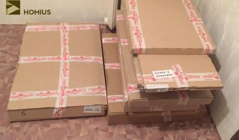 Мебель доставлена, ожидаем специалистов для её сборки