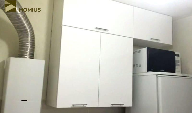 Капитальный ремонт кухни в хрущёвке на 6,5 м² своими руками