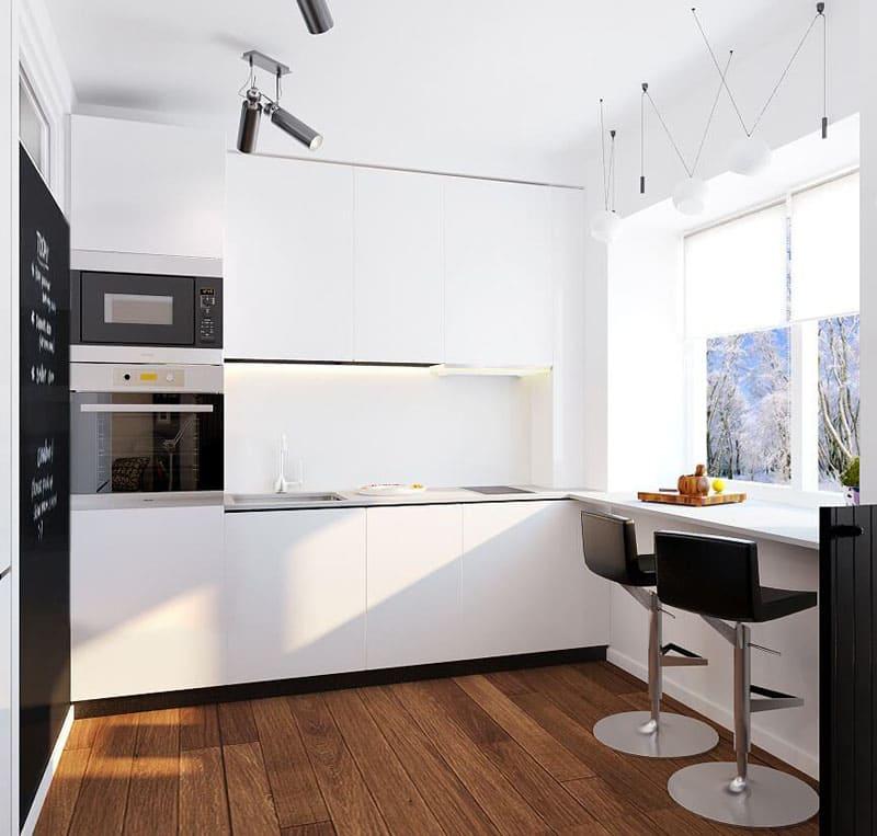 Ремонт в 5-метровой кухне