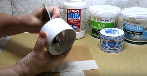Как быстро и дёшево сделать шкатулку своими руками