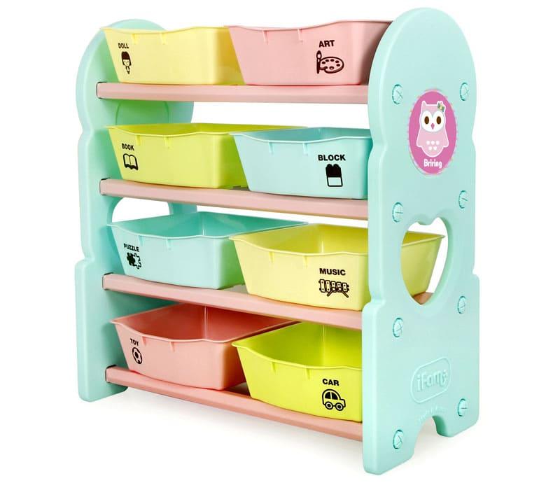 Пластиковое исполнение также эстетично для детской комнаты