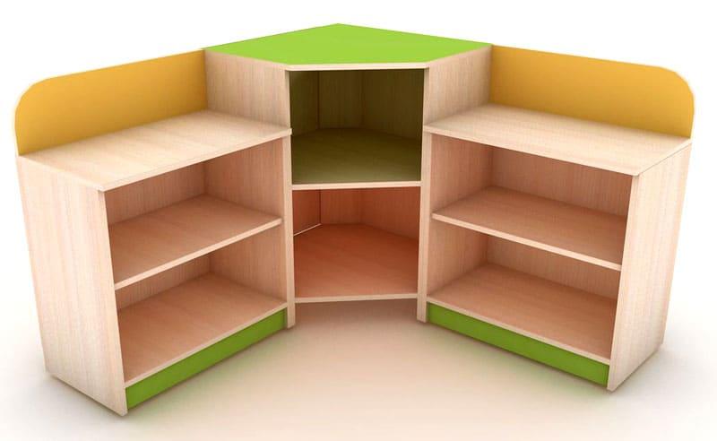 Угловые модели маленького размера специально для крохотной детской комнаты