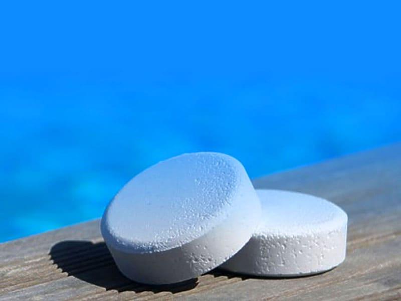 Таблетки для бассейна для дезинфекции воды