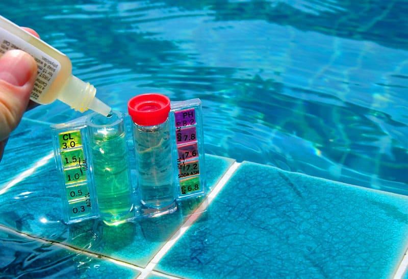 До использования химии нужно выровнять уровень pH