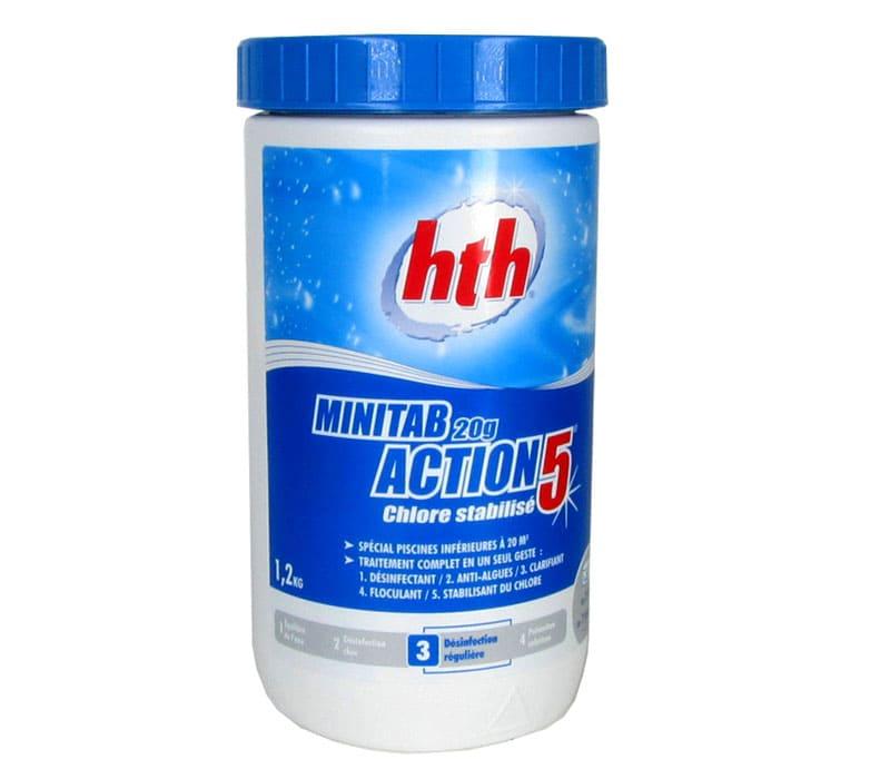 Таблетированная химия «HTH Minitab Action 5»