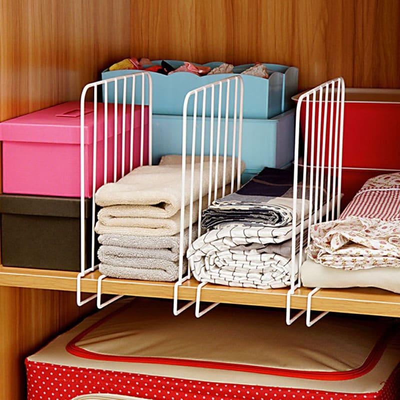 Количество разделителей можно варьировать, в зависимости от габаритов вашего шкафа