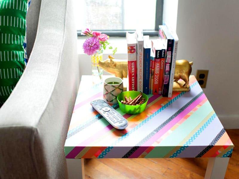 Согласитесь, мебель выглядит намного эффектнее. На площадке AliExpress можно подобрать различные варианты скотча
