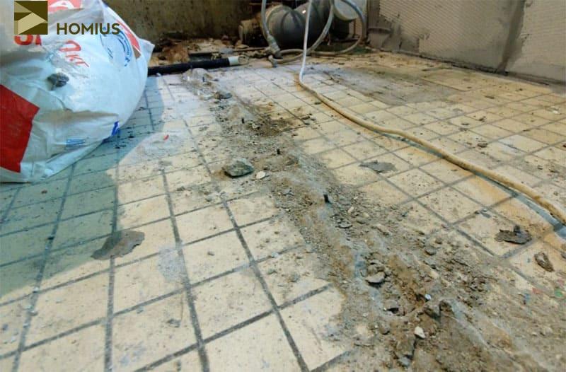 Ванная комната на трёх квадратных метрах