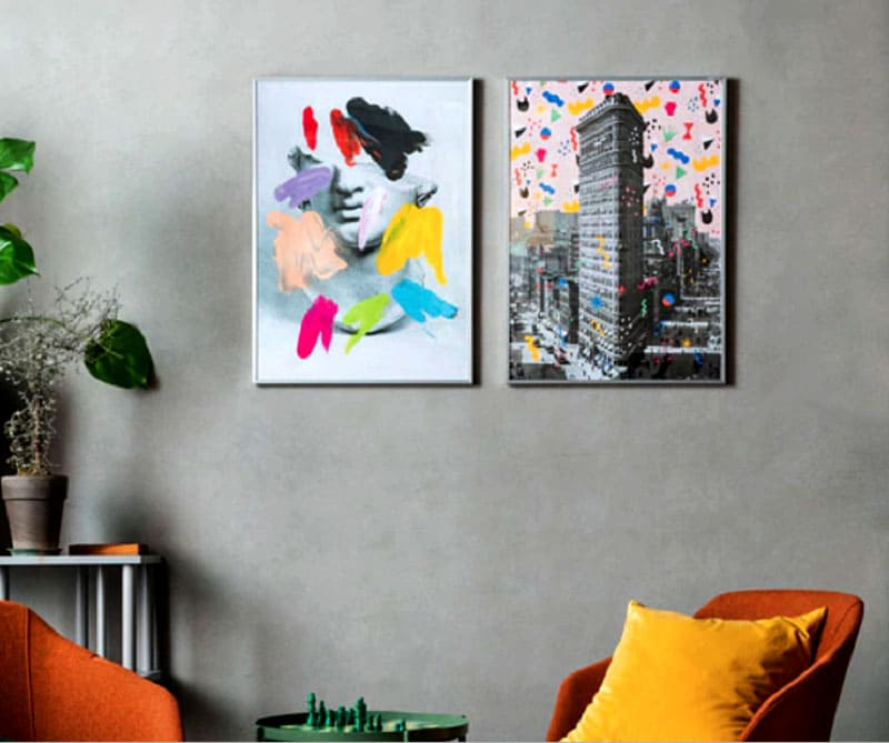 Цена 2-х постеров «Нью Йорк» размером 50×70 см 299 рублей