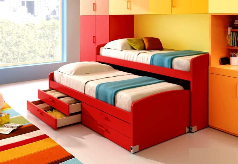 Продумайте возможность дополнительного спального места на тот случай, если к вашему ребёнку придут друзья или приедут родственники