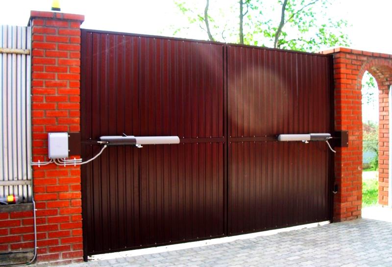 Управление воротами в умном доме