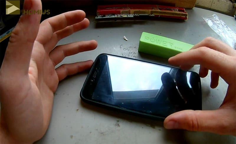 Вот такой смартфон удалось «раскачать» до 41% зарядки, что уже довольно неплохо