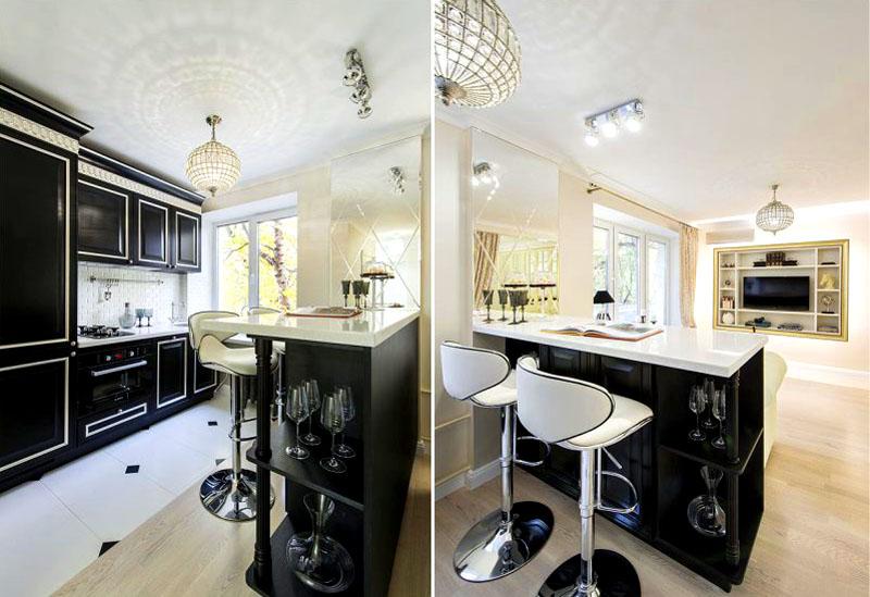 Дизайн кухни 6 кв. м: идеи и фото