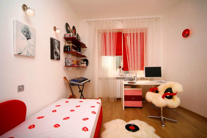 Кровать-кушетка – идеальный вариант для небольшой комнаты