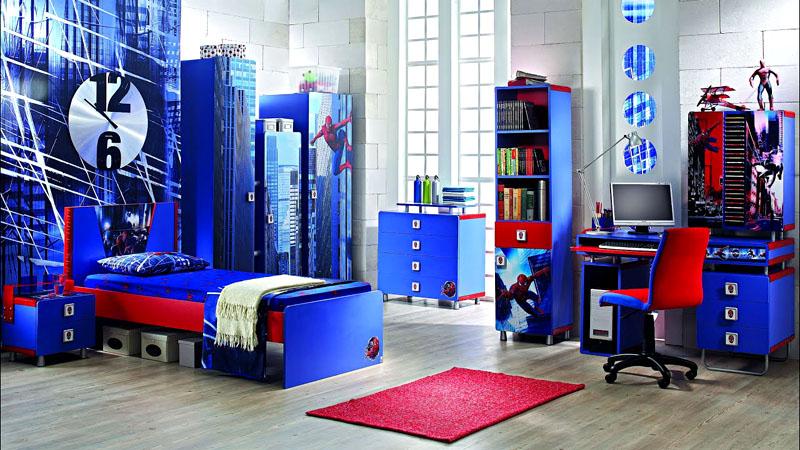 Мальчику 14-15 лет понравится яркая комната, стилистически оформленная по теме любимой киновселенной