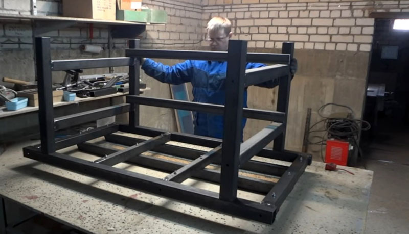 Изготовление станины