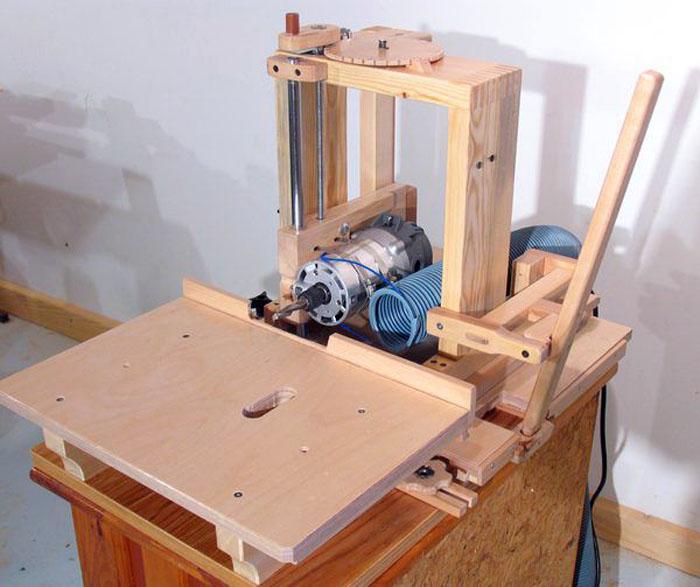 Самостоятельное создание фрезерного станка по древесине