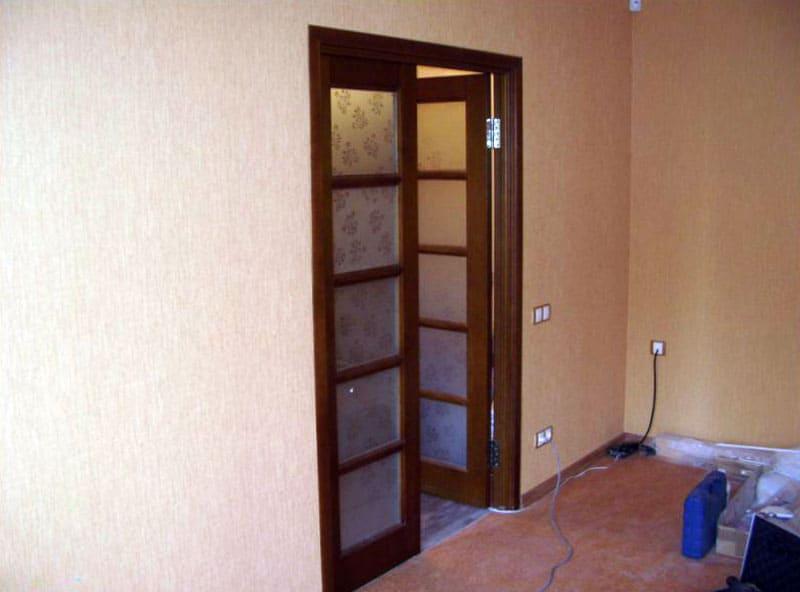 Как установить межкомнатную дверь