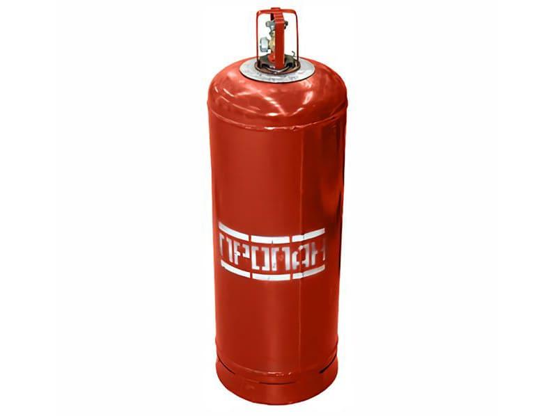 Баллон с газом для парогенератора