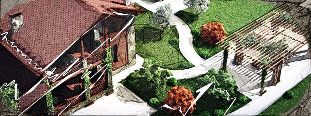Планировка дачного участка: идеи, правила