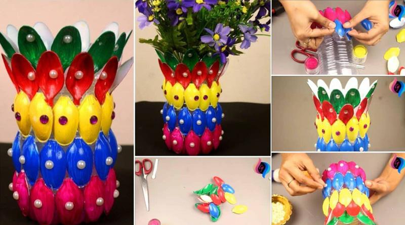 Можно сделать больше объёма в центре, тогда ваза будет напоминать красивый декоративный цветок