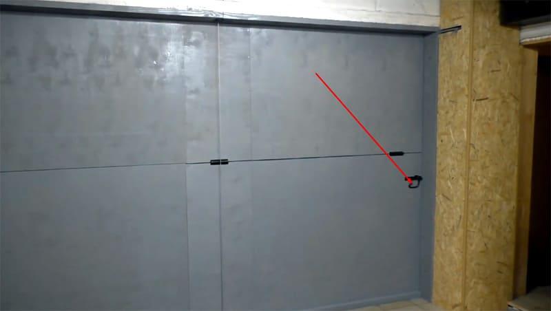 Итоговый результат – на фото показаны запирающие задвижки, расположенные по обеим сторонам