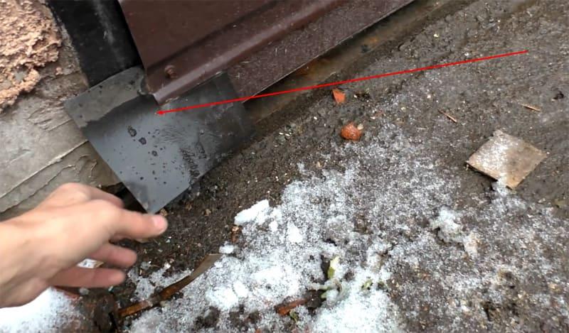 Резиновые клапаны защитят ролики от грязи и снега
